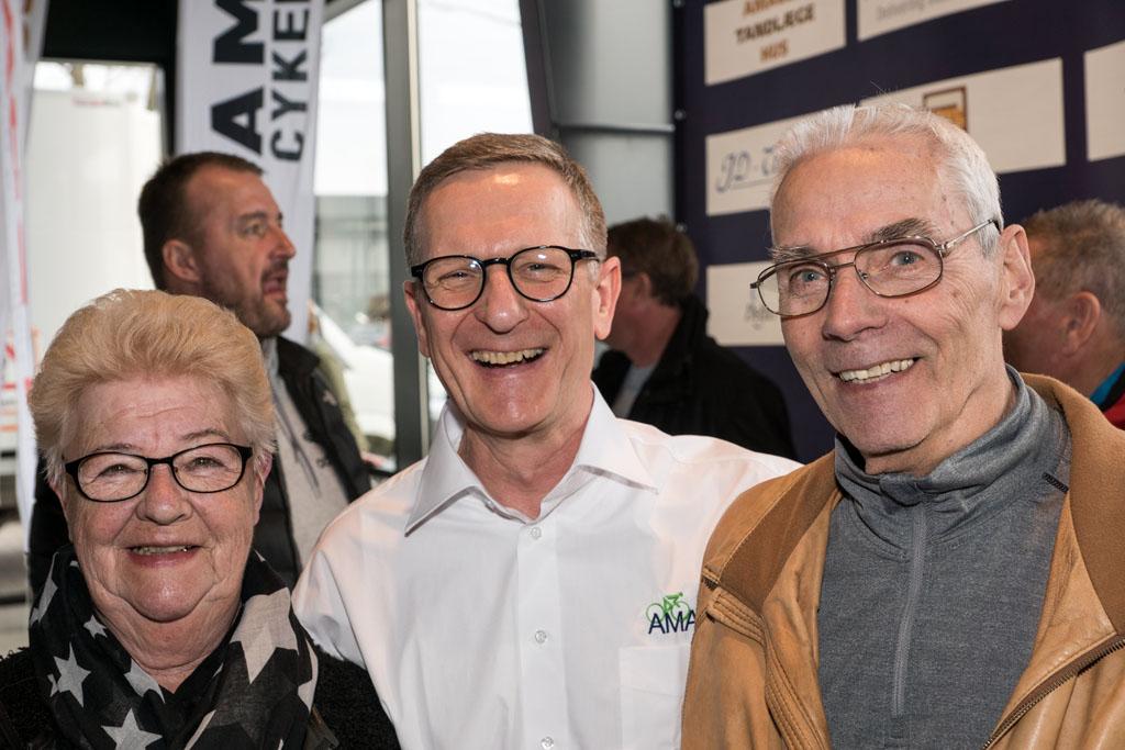 "Myrna, Tim Stokholm og Oluf ""Luffe"" Jørgensen"