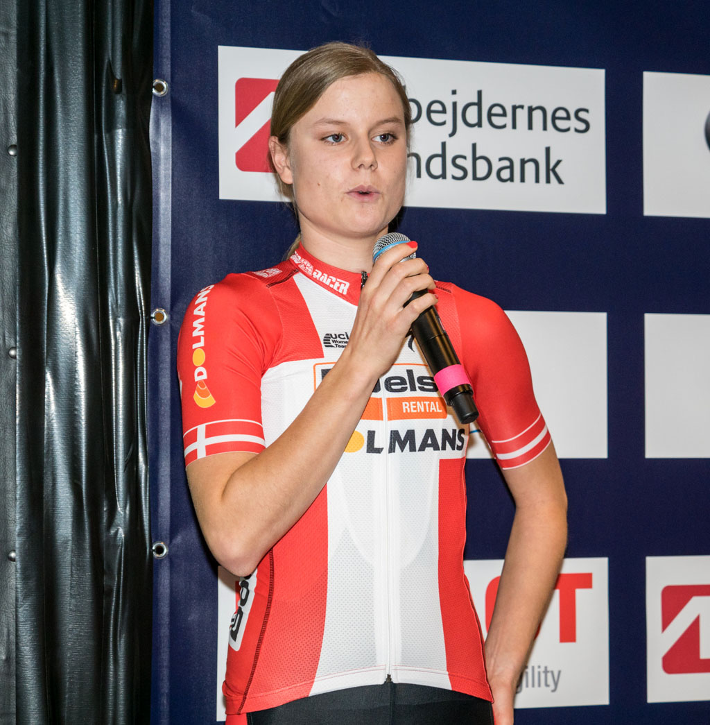 Amalie Dideriksen, taler om sin ungdomstid i klubben