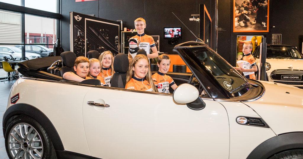 Sponsor: Jan Nygaard AS forhandler af Mini og BMW