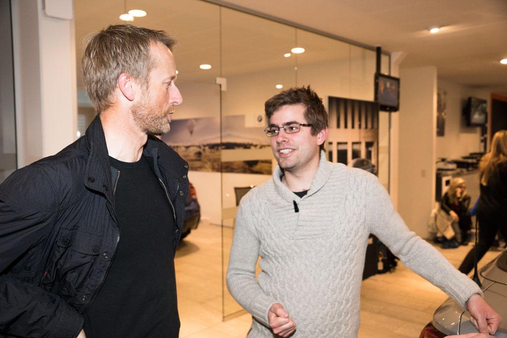 Steen Mørch og Michael S. Poulsen