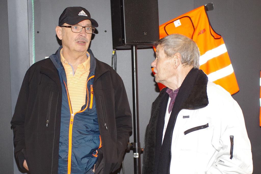 Flemming Thomsen  og Børge Marcussen