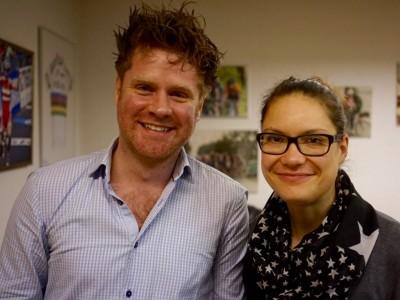 To af de nye bestyrelsesmedlemmer Morten Anderson og Rikke Bak Dalgaard - foto: Jesper Skovbølle